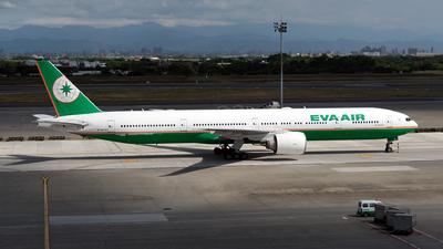 A picture of B16709 - Boeing 77735E(ER) - EVA Air - © HHD0221