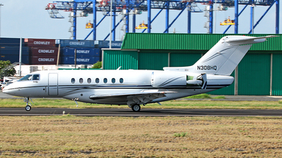 N308MQ - Hawker Beechcraft 4000 - Private