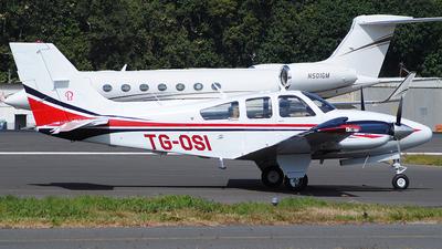 A picture of TGOSI - Beech 95E55 Baron - [TE1133] - © Brian Boche