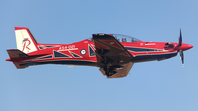 A54-021 - Pilatus PC-21 - Australia - Royal Australian Air Force (RAAF)