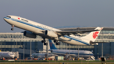 A picture of B5956 - Airbus A330343 - Air China - © cmqmc