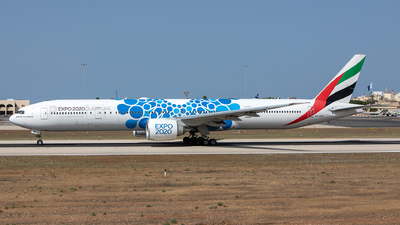 A picture of A6ENI - Boeing 77731H(ER) - Emirates - © Chris Camille