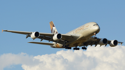 A6-APA - Airbus A380-861 - Etihad Airways