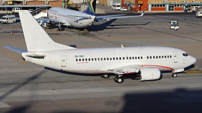 ZS-TGY - Boeing 737-5Y0 - Africa Charter Airline