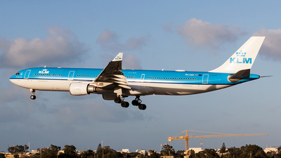 A picture of PHAKE - Airbus A330303 - KLM - © Ray Pace