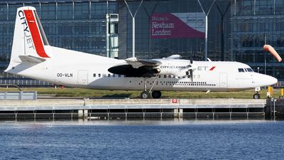 OO-VLN - Fokker 50 - CityJet