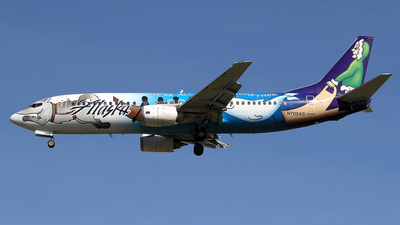 N705AS - Boeing 737-490 - Alaska Airlines