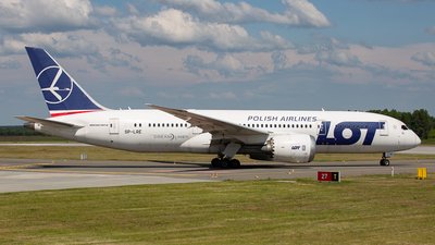 A picture of SPLRE - Boeing 7878 Dreamliner - LOT - © Justyna Szlendak