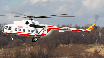 634 - Mil Mi-8S Hip - Poland - Air Force