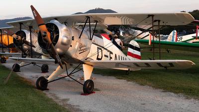 D-EAUU - Bücker 133 Jungmeister - Private