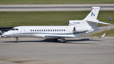 A picture of FOJMJ - Dassault Falcon 8X - Dassault Falcon Service - © martin.thut
