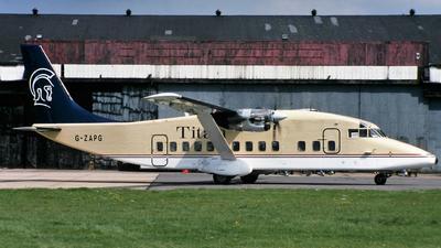G-ZAPG - Short 360-300 - Titan Airways