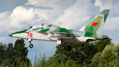 78 - Yakovlev Yak-130 - Belarus - Air Force