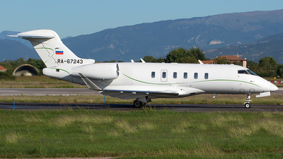 RA-67243 - Bombardier BD-100-1A10 Challenger 350 - Private