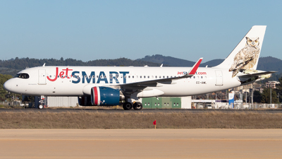 A picture of CCAWL - Airbus A320271N - JetSMART - © Sebastián Fernández