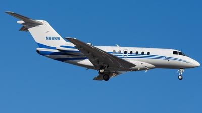 N66BW - Hawker Beechcraft 4000 - Private