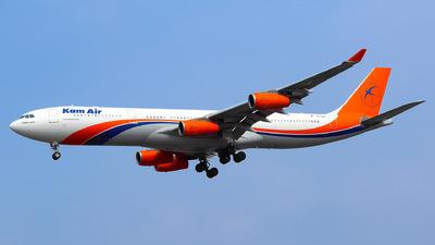YA-KME - Airbus A340-313 - Kam Air