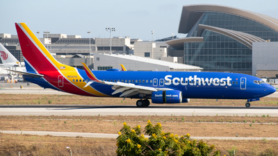 A picture of N8504G - Boeing 7378H4 - Southwest Airlines - © Beck Ramsey