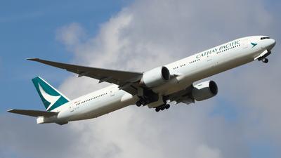B-KQP - Boeing 777-367ER - Cathay Pacific Airways