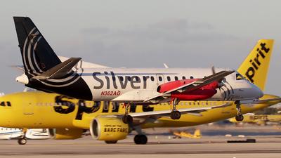 N362AG - Saab 340B - Silver Airways