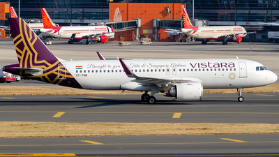 A picture of VTTNB - Airbus A320251N - Vistara - © Rohan Paliwal