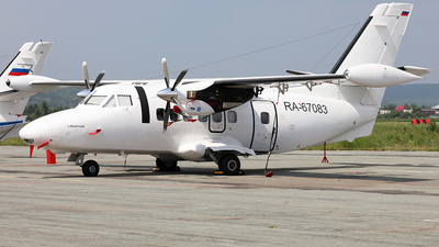 RA-67083 - Let L-410UVP-E20 Turbolet - UZGA - Ural Plant of Civil Aviation