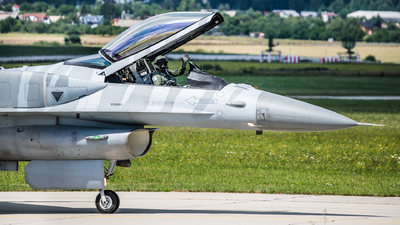 4056 - Lockheed Martin F-16CJ Fighting Falcon - Poland - Air Force