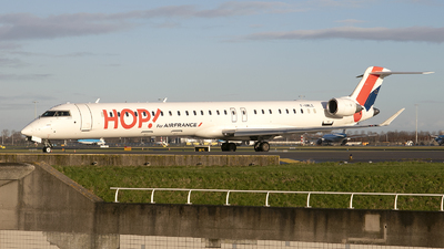F-HMLE - Bombardier CRJ-1000EL - HOP! for Air France