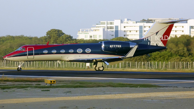 N777KK - Gulfstream G-IV(SP) - Private