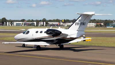 VH-FNI - Cessna 510 Citation Mustang - Private