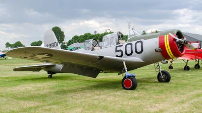 N71502 - Vultee BT-13B Valiant - Private
