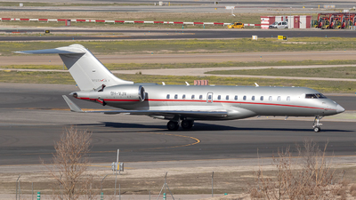 9H-VJV - Bombardier BD-700-1A10 Global 6000	 - VistaJet