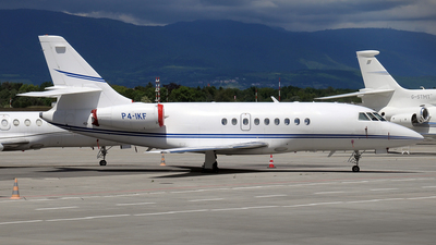 P4-IKF - Dassault Falcon 2000 - Ikaros Aviation