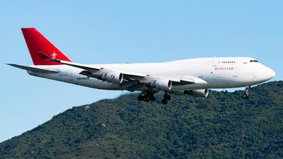 EW-556TQ - Boeing 747-409(BDSF) - RubyStar