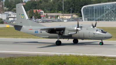 48 - Antonov An-26 - Ukraine - Air Force