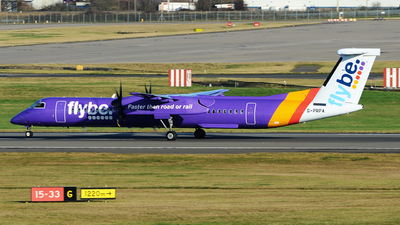 A picture of GPRPA - De Havilland Canada Dash 8400 - Flybe - © tianqi yao