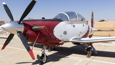 481 - Raytheon T-6A Efroni - Israel - Air Force