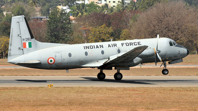 H2183 - Hindustan Aeronautics HAL-748 - India - Air Force