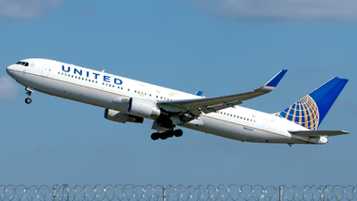 N644UA - Boeing 767-322(ER) - United Airlines