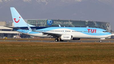 A picture of GFDZF - Boeing 7378K5 - TUI fly - © Alberto Cucini