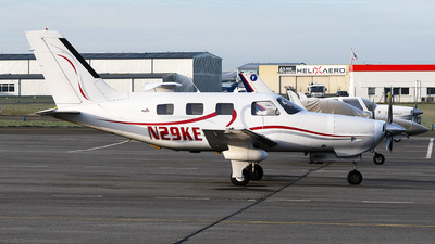 N29KE - Piper PA-46-350P Malibu Mirage - Private