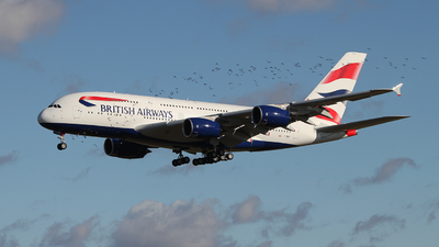 F-WWAK - Airbus A380-841 - British Airways