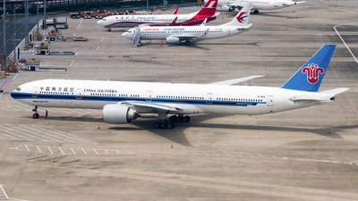 B-7183 - Boeing 777-31BER - China Southern Airlines