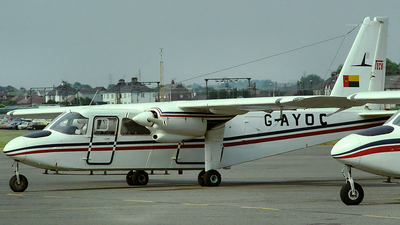 G-AYOC - Britten-Norman BN-2A Islander - TACV Cabo Verde Airlines