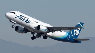 N845VA - Airbus A320-214 - Alaska Airlines