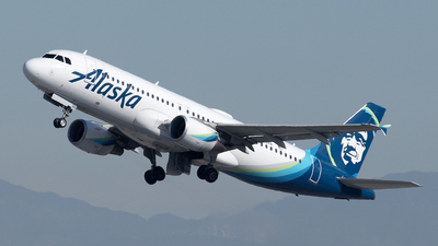 A picture of N845VA - Airbus A320214 - Alaska Airlines - © Yixin Chen