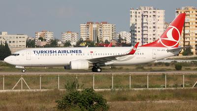TC-JFD - Boeing 737-8F2 - Turkish Airlines