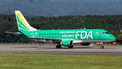 A picture of JA11FJ - Embraer E175STD - Fuji Dream Airlines - © Yasutaka.S
