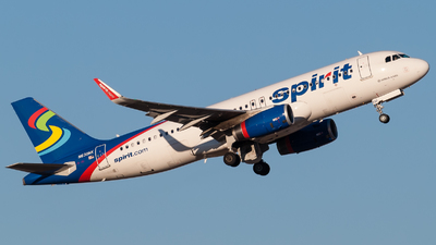 N630NK - Airbus A320-232 - Spirit Airlines