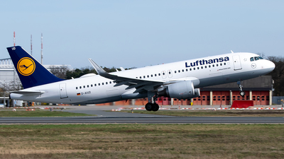 A picture of DAIUD - Airbus A320214 - Lufthansa - © Timo Duda